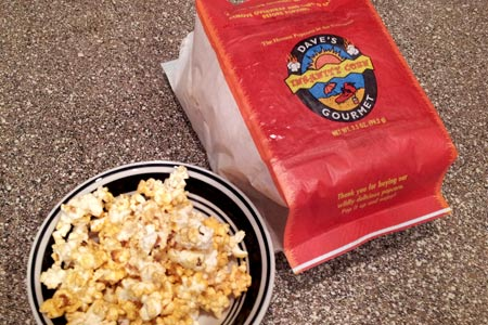 Dave's Gourmet Insanity Microwave Popcorn